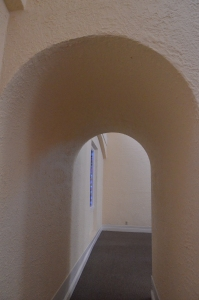 Arch at the First Congregational United Church of Christ in Berkley, California