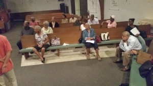 Workshop on Prayer at Tubman-King Community church in Daytona, Beach, Fl