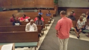 Workshop on Prayer at Tubman- King Church in Daytona, Florida